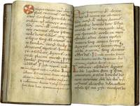 image of Liturgical Rites and Prayers used by a Bishop; in Latin, decorated manuscript on parchment