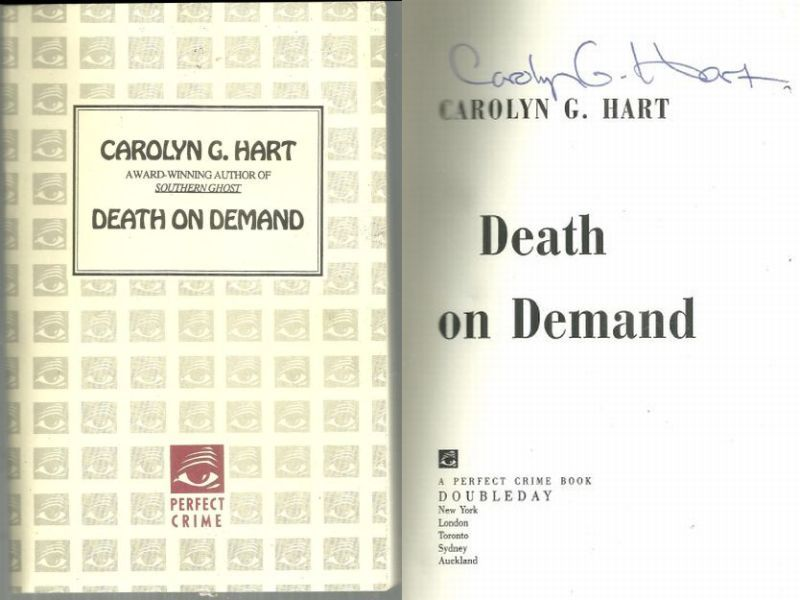 DEATH ON DEMAND, Hart, Carolyn