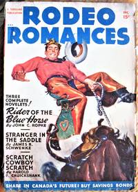 Rider of the Blue Horse. Short Story in Rodeo Romances Volume 11 Number 2, December 1948