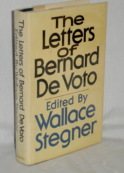 New York: Doubleday & Co, 1975. First Edition. Octavo. First printing inscribed by Stegner, 393pp., ...