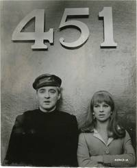 Fahrenheit 451 (Photograph of Julie Christie and Oskar Werner from the set of the 1966 film)
