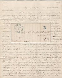FOLLOWING AN UNSUCCESSFUL REVIVAL, A DISHEARTENED MISSIONARY PREACHER LAMENTS, AFTER I LEFT THERE I WEPT OVER THE LOSS OF SUCH AN OPPORTUNITY OF WINNING SOULS TO CHRIST; Letter from a Presbyterian minister in the heart of Wisconsin's lead-mining district to the secretary of the American Home Missionary Society