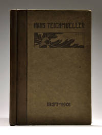 [TEXANA / LAW]. Hans Teichmueller. Biographical Sketch. Addresses and Letters to his family....