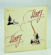 Harz und Kyffhäuser: Vintage German Tourist Booklet