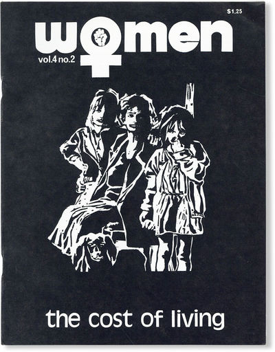 Baltimore: Women: A Journal of Liberation, 1975. First Edition. Quarto (27.75cm); illustrated card w...