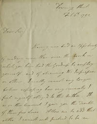 Autograph Letter, Signed. To Henry Mackenzie (1745-1831)