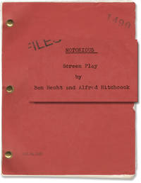 image of Notorious (Original screenplay for the 1946 film, with alternate ending)
