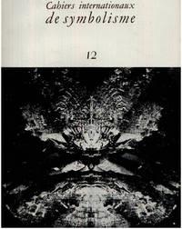 image of Cahiers internationaux de symbolisme n° 12
