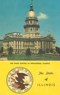 Illinois Capitol Building, Springfield Illinois unused Postcard