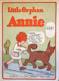 3 BOOKS:  1. Little Orphan Annie in the circus; 2. Little Orphan Annie and the haunted house; 3. Little Orphan Annie