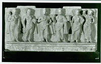 Photograph of Ancient Wall Sculpture, Standing Figures