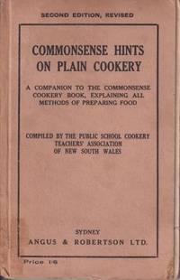 Commonsense Hints on Plain Cookery: 2E