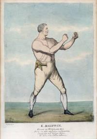 6 hand coloured Prints of Regency Boxers, depicting: Wm. Eales, James Ward, Jack Randall, E. Baldwin, Joshua Hudson, and J. Goodman