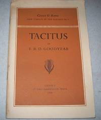 Tacitus (Greece & Rome New Surveys in the Classics No. 4)