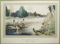 An Anxious Moment - Salmon Fishing