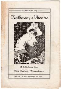 image of Hathaway's Theatre Program Dec. 23 to Dec. 30, 1907