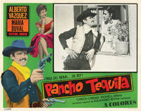 image of Pancho Tequlia (Collection of three original lobby cards for the 1970 film)