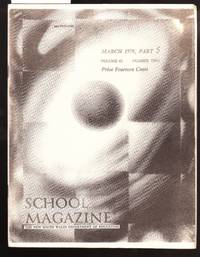 image of School Magazine - New South Wales Dept. Of Education - March 1978 Part 5  Vol. 63  No.2