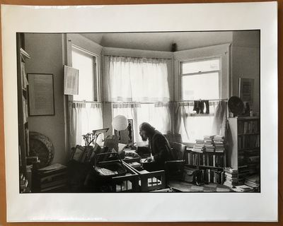 Gelatin silver photograph measuring 12 x 17 ¾ inches on paper measuring 16 x 20 inches, titled, sig...