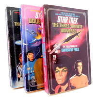 Three Star Trek Novels: #41 The Three-Minute Universe; #45 Double, Double; #46 The Cry of the Onlies