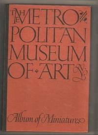 The Metropolitan Museum of Art Album of Miniatures w/Slip Case Box