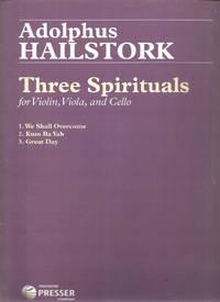 Three Spirituals For Violin, Viola, and Cello