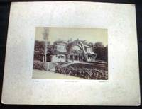 C. 1880 Cabinet Card of the Waring Home in Newport Rhode Island (?) By Photographer Identified as L. Alman, 172 Fifth Ave. N.Y. Newport, R.I