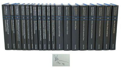 Indianapolis: Liberty Fund, 1999-2002. First editions of each of volume that comprise the collected ...