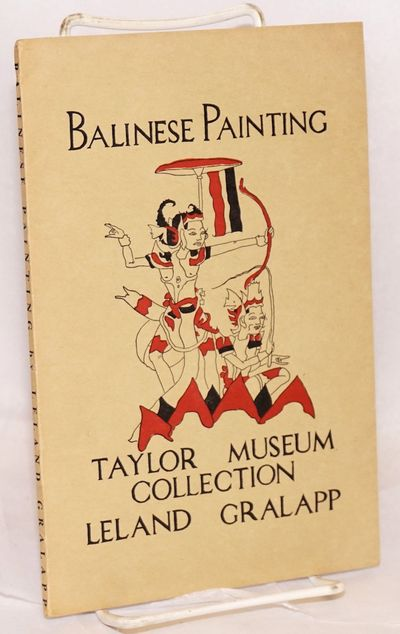 Colorado Springs: Taylor Museum, 1961. 39p., illustrated wraps, 18 illustrations in B&W on 8 plates ...