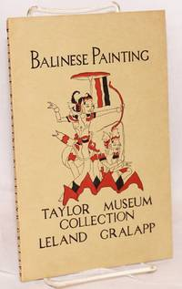 Balinese painting. Taylor Museum Collection
