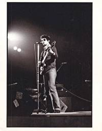 image of Original photograph of Lou Reed in performance, circa 1978