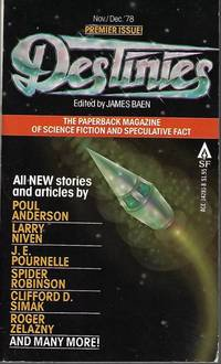 DESTINIES: November, Nov./ December, Dec. 1978: The Paperback Magazine of Science Fiction and...