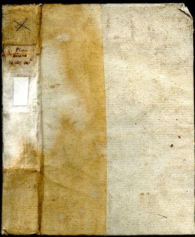 Venice: Paul Manutium (Aldus), 1559. Hardcover (Half Vellum). Very Good Condition. 18th century vell...