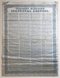 Unique Printing of William Henry Harrison's Deadly Inaugural Address on Silk
