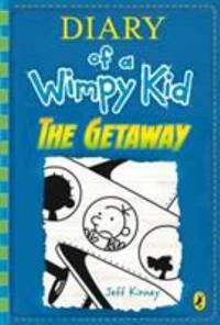 Diary of a Wimpy Kid: The Getaway book 12 Hardcover Nov 07  2017 JEFF KINNEY