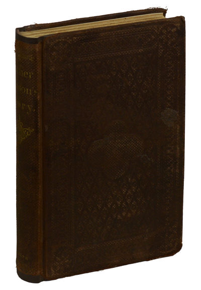 Boston: John P. Jewett & Company, 1858. First Edition. Hardcover. Very Good. First edition. xii, 212...