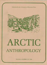 image of ARCTIC ANTHROPOLOGY. Vol. 23, Nos. 1_2, 1986.