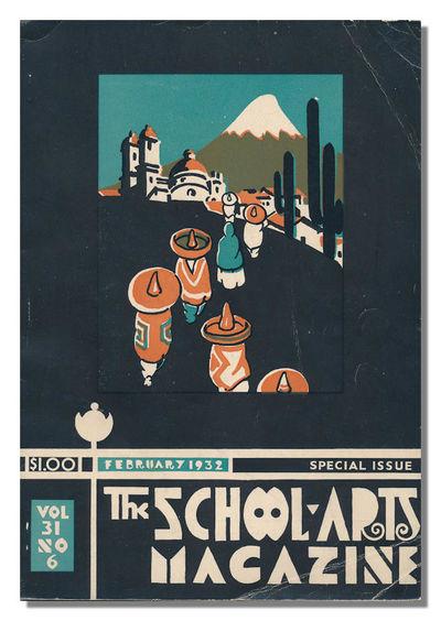 Worcester, MA: The Davis Press, 1932. Special Issue XXXI:6, Small quarto. Pictorial wrapper, Photogr...