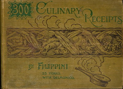 New York & Boston: H.M. Caldwell & Company, 1892. The Handy Volume Culinary Series, with three small...