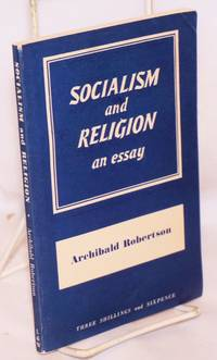 Socialism and Religion: an essay