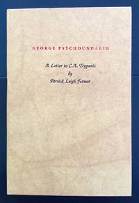 George Psychoundakis : A Letter To C.A.Trypanis (Signed By The Author And With The...