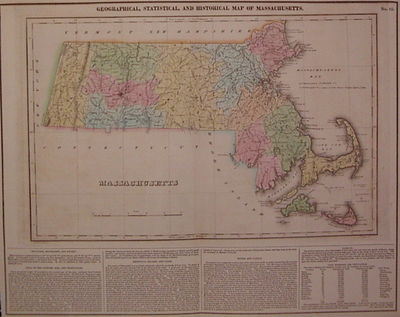 Philadelphia: Carey & Lea, 1823. unbound. very good(+). Map. Engraving with original hand coloring. ...