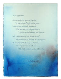 The Bargain [by] Sir Philip Sidney.
