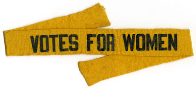 Votes for Women Armband