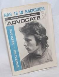 The Advocate: newspaper of America\'s homophile community; #121, September 26, 1973: Gay Japan/Sir Turmoil/John Savage cover