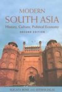 Modern South Asia  History, Culture and Political Economy by  Sugata Bose - Paperback - 2003 - from Mahler Books (SKU: 092609-139-156u)