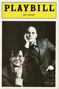 image of PENN JILLETTE AND TELLER AS PENN_TELLER. Directed by Art Wolff... Original Ritz Theatre Playbill SIGNED by PENN_TELLER.