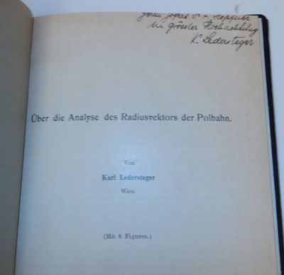 Leipzig: Akademische Verlagsgesellschaft m. b H., 1930. First Separate Edition. Cloth. Very Good. Fi...