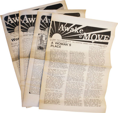 Penllyn, PA: Awake & Move / Philadelphia Women's Liberation Center, 1971. First Edition. Paperback. ...