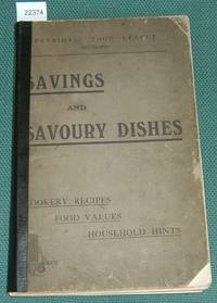 Savings and Savoury Dishes